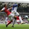 Arsenal draw with thugs from Blackburn