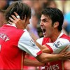 Rosicky and Fabregas keep Arsenal purring