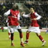 Adebayor relieved, van Persie back, Fabregas out