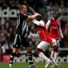 Arsenal held by pumped-up Newcastle