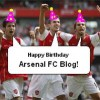 The Arsenal FC Blog is 1 today! Huzzah!