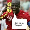 What I wish Appiah would say to Arsenal
