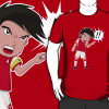 Cesc gets Mangarized for a brilliant new Arsenal FC Blog shirt