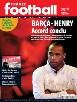 Henry's agent may sue France Football magazine
