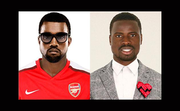 Actors that look like footballers Eboue-kanye